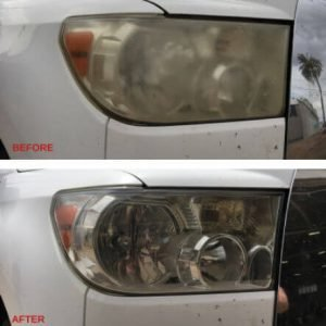Headlight-Restoration Before-After